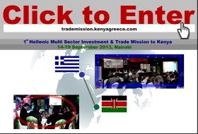 1st Hellenic Multi Sector Investment & Trade Mission to Kenya