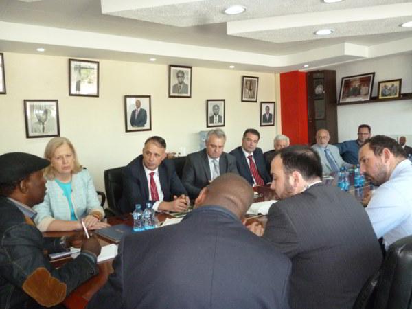 Έλληνες Επιχειρηματίες στα γραφεία του Εθνικού Οικονομικού & Εμπορικού Επιμελητηρίου της Κένυας